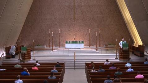 Thumbnail for entry Kramer Chapel Sermon - Wednesday, July 15, 2020