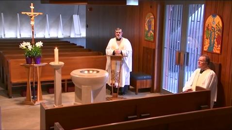 Thumbnail for entry Kramer Chapel Sermon - Wednesday, April 22, 2020