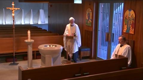 Thumbnail for entry Kramer Chapel Sermon - Tuesday, May 12, 2020