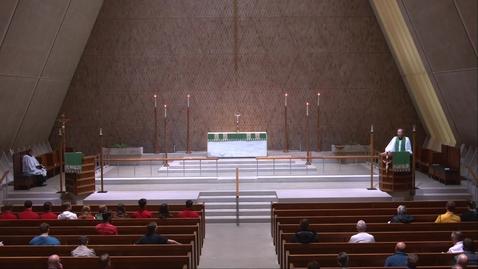 Thumbnail for entry Kramer Chapel Sermon - Friday, June 18, 2021