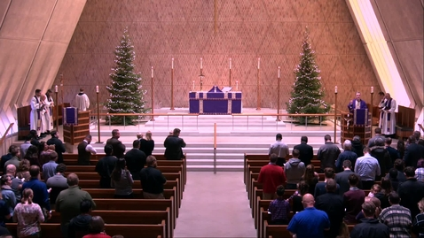 Thumbnail for entry Kramer Chapel Sermon - Wednesday, December 18, 2019