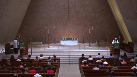 Thumbnail for entry Kramer Chapel Sermon - Thursday, July 30, 2020