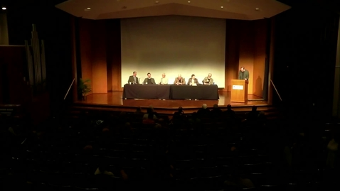 Thumbnail for entry The 35th Annual Symposium on Exegetical Theology Panel Discussion