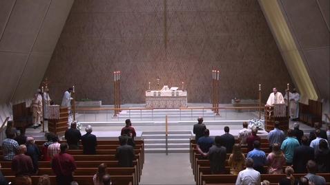 Thumbnail for entry Kramer Chapel Sermon - Wednesday, April 28, 2021