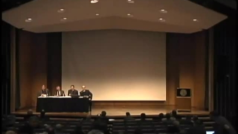 Thumbnail for entry Symposia 2011 - Exegetical - Panel Discussion - Video
