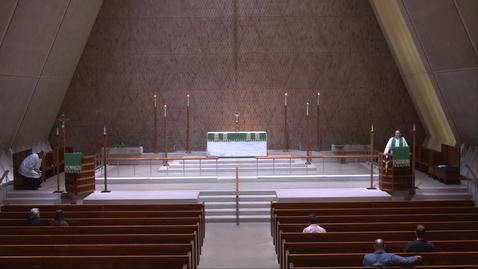 Thumbnail for entry Kramer Chapel Sermon - Monday, August 16, 2021