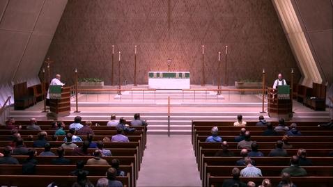 Thumbnail for entry Kramer Chapel Sermon - Thursday, October 17, 2019