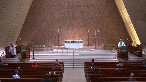 Thumbnail for entry Kramer Chapel Sermon - Thursday, June 18, 2020