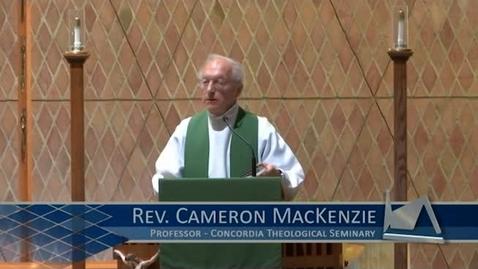 Thumbnail for entry Kramer Chapel Sermon - October 03, 2017
