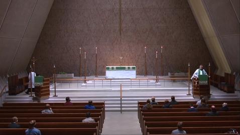 Thumbnail for entry Kramer Chapel Sermon - Thursday, October 29, 2020