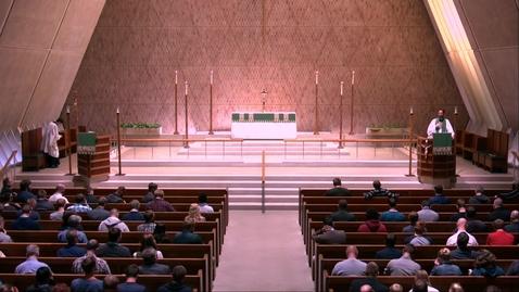 Thumbnail for entry Kramer Chapel Sermon - Monday, October 14, 2019