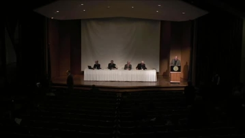 Thumbnail for entry 2016 Symposia - Panel Discussion: Reformation Hermeneutics