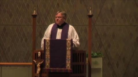 Thumbnail for entry Kramer Chapel Sermon - December 3, 2015