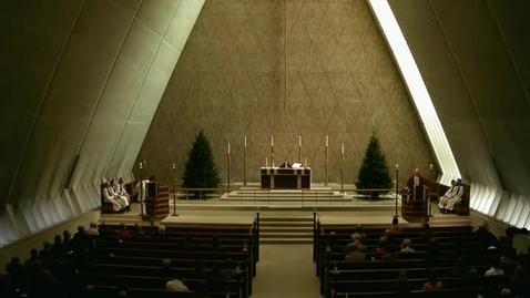 Thumbnail for entry Kramer Chapel Sermon - December 03, 2014