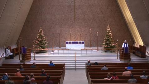 Thumbnail for entry Kramer Chapel Sermon - Tuesday, December 15, 2020