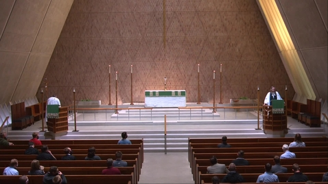 Thumbnail for entry Kramer Chapel Sermon - Friday, October 09, 2020