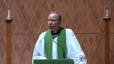 Thumbnail for entry Kramer Chapel Sermon - Thursday, September 16, 2021