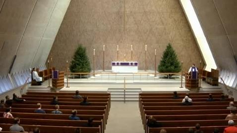 Thumbnail for entry Kramer Chapel Sermon - December 8, 2016