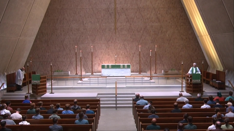 Thumbnail for entry Kramer Chapel Sermon - Friday, September 17, 2021