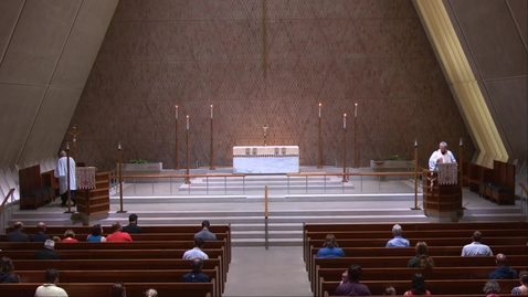 Thumbnail for entry Kramer Chapel Sermon - Wednesday, July 22, 2020