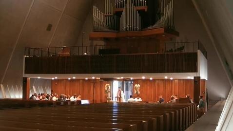 Thumbnail for entry Kramer Chapel Sermon - June 08, 2017