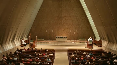 Thumbnail for entry Kramer Chapel Sermon - October 14, 2014
