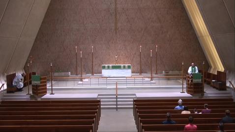 Thumbnail for entry Kramer Chapel Sermon - Friday, August 6, 2021