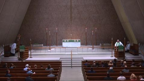 Thumbnail for entry Kramer Chapel Sermon - Friday, July 23, 2021