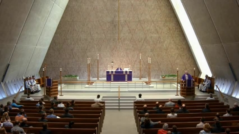 Thumbnail for entry Kramer Chapel Sermon - April 12, 2017