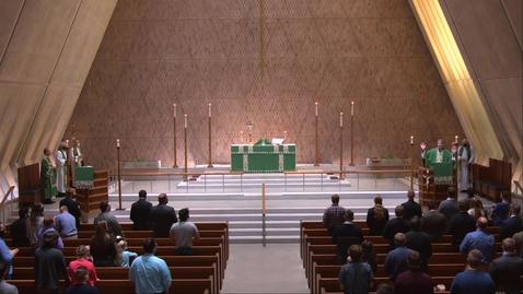 Thumbnail for entry Kramer Chapel Sermon - Wednesday, October 07, 2020