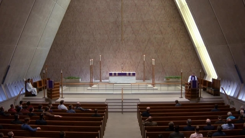 Thumbnail for entry Kramer Chapel Sermon - March 23, 2018