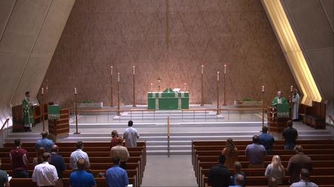 Thumbnail for entry Kramer Chapel Sermon - Wednesday, August 05, 2020
