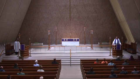 Thumbnail for entry Kramer Chapel Sermon - Thursday, March 18, 2021