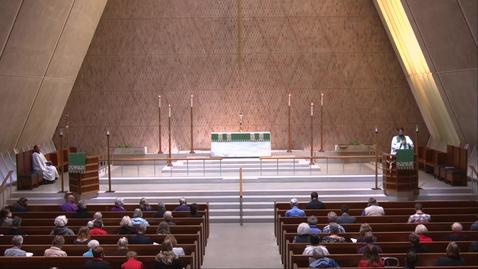 Thumbnail for entry Kramer Chapel Sermon - Tuesday, October 13, 2020