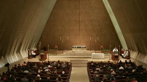 Thumbnail for entry Kramer Chapel Sermon - November 04, 2014