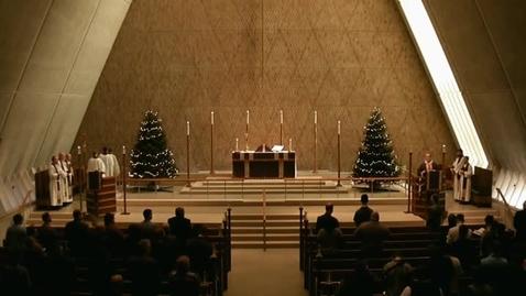 Thumbnail for entry Kramer Chapel Sermon - December 16, 2015