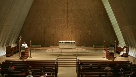 Thumbnail for entry Kramer Chapel Sermon - January 29, 2015