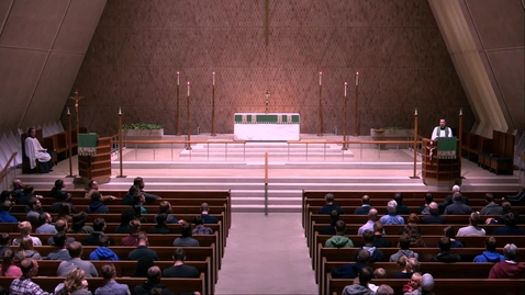 Thumbnail for entry Kramer Chapel Sermon - Friday, October 25, 2019