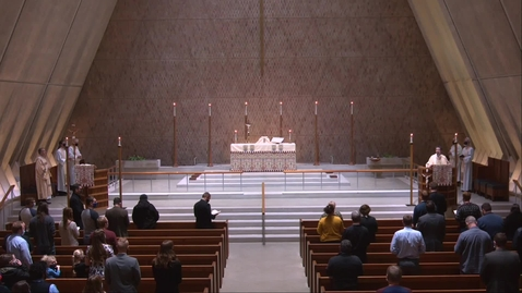 Thumbnail for entry Kramer Chapel Sermon - Tuesday, January 26, 2021