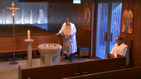 Thumbnail for entry Kramer Chapel Sermon - Monday, May 04, 2020