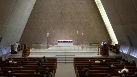Thumbnail for entry Kramer Chapel Sermon - March 23, 2017