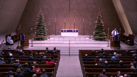 Thumbnail for entry Kramer Chapel Sermon - Friday, December 13, 2019