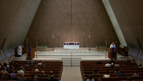 Thumbnail for entry Kramer Chapel Sermon - March 30, 2017