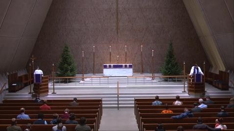 Thumbnail for entry Krmaer Chapel Sermon - Tuesday, December 8, 2020