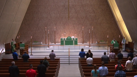 Thumbnail for entry Kramer Chapel Sermon - Wednesday, August 19, 2020