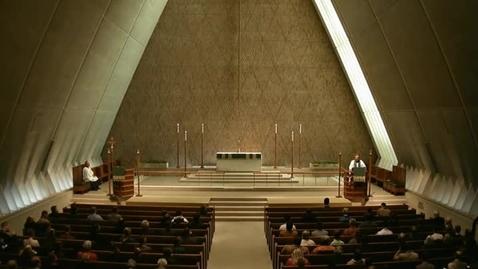 Thumbnail for entry Kramer Chapel Sermon - October 10, 2014
