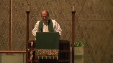Thumbnail for entry Kramer Chapel Sermon - November 9, 2015