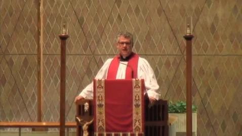 Thumbnail for entry Kramer Chapel Sermon - May 19, 2016