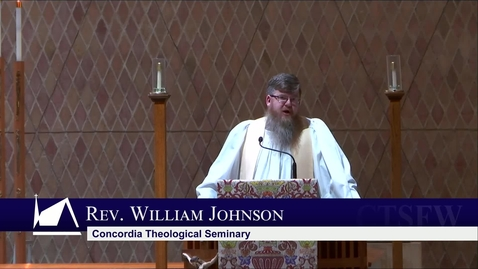 Thumbnail for entry Kramer Chapel Sermon - Friday, April 9, 2021