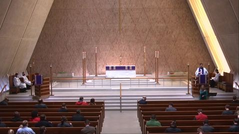 Thumbnail for entry Kramer Chapel Sermon - Monday, March 29, 2021
